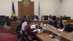 Ședința Curții de Conturi de examinare a Raportului auditului rapoartelor financiare ale aparatului central al Ministerului Afacerilor Externe și Integrării Europene, încheiate la 31 decembrie 2018