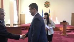 Semnarea contractului pentru reabilitarea drumului M2 drumul de centură a municipiului Chișinău, sectorul km 0 - km 6,55, între Î.S. Administrația de Stat a Drumurilor și companiile SRL Rutador și SA Lusmecon