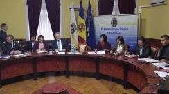 Ședința săptămânală a serviciilor primăriei Chișinău din 8 aprilie 2019