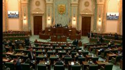 Ședința în plen a Senatului României din 8 aprilie 2019