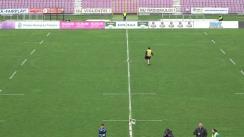 Meciul de Rugby între Timișoara Saracens - CSA Steaua București. SuperLiga CEC BANK 2018-2019