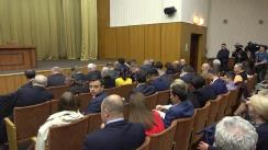 Ședința Consiliului Republican al Partidului Socialiștilor din Republica Moldova