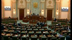 Ședința în plen a Senatului României din 15 aprilie 2019