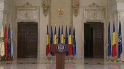Declarație de presă susținută de Președintele României, Klaus Iohannis, după consultările pe tema justiției cu reprezentanții PSD și ALDE