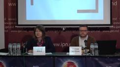 """Conferință de presă organizată de Centrul pentru Jurnalism Independent cu tema """"Elemente de propagandă, manipulare informațională și încălcare a normelor deontologiei jurnalistice în spațiul mediatic autohton"""" (1 ianuarie – 31 martie 2019)"""