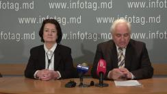 """Conferință de presă organizată de Președintele Congresului Comunităților Ruse din Republica Moldova, Valerii Climenco, cu tema """"Coțcarii protejați de Președinte"""""""