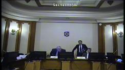 Ședința comisiei pentru industrii și servicii a Camerei Deputaților României din 16 aprilie 2019