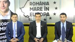 """Conferința de presă a """"Alianței independenților pentru alegerile europarlamentare''"""