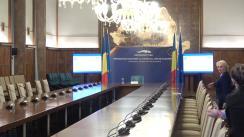 Prezentarea bilanțului rezultatelor obținute de Președinția României la Consiliul Uniunii Europene în primele 100 de zile de mandat