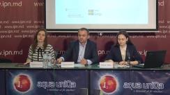 """Conferința de presă organizată de Centrul Parteneriat pentru Dezvoltare cu tema """"Lansarea Indexului Coeziunii Sociale"""""""