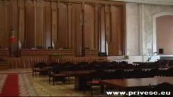 Ședință a parlamentului, organizată de către PCRM