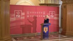 Conferință de presă după ședința Comitetului Executiv al PSD din 17 aprilie 2019