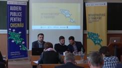 Audieri publice pentru Chișinău pe subiectul infrastructurii și transportului din mun. Chișinău