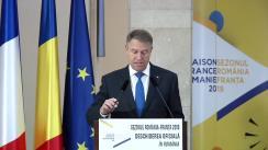 Deschiderea oficială a sezonului România-Franța
