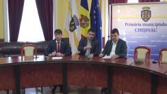 Briefing susținut de consilierii municipali ai Partidului Socialiștilor din Republica Moldova