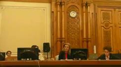 Ședința Comisiei speciale comună a Camerei Deputaților și Senatului pentru sistematizarea, unificarea și asigurarea stabilității legislative în domeniul justiției din 23 aprilie 2019