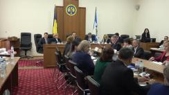 Ședința Curții de Conturi de examinare a Raportului auditului conformității achizițiilor publice în cadrul Ministerului Sănătății, Muncii și Protecției Sociale și instituțiile din subordine în anul 2018