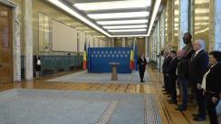 Ceremonia de înmânare a nouă acorduri de finanțare acordate în baza schemei de ajutor de stat cu impact semnificativ în economie