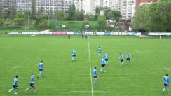 Meciul de Rugby între CSM București - Timișoara Saracens. SuperLiga CEC BANK 2018-2019