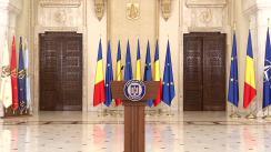 Mesaj public adresat de Președintele României, Klaus Iohannis
