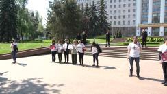 "Flashmob ""Panoul Inamicii Presei"""