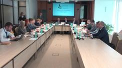 """Masa rotundă organizată de ONG-ul """"Institutul de dezvoltare din Moldova"""" cu tema """"Rezultatele expertizării și evaluării politicilor publice pentru domeniul reforma sectorului justiției"""""""