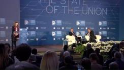 """Conferința """"The State of the Union"""" organizată de Institutul Universitar European din Florența"""
