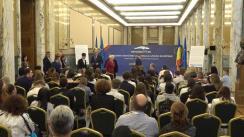 """Întâlnirea prim-ministrului României, Viorica Dăncilă, cu copiii și tinerii din statele membre UE care iau parte la Conferința Internațională """"Participarea copiilor la procesele de luare a deciziilor și de elaborare a politicilor la nivelul UE"""""""