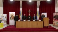 Conferință de presă organizată de Comisia de pregătire a vizitei Papei Francisc în România, din cadrul Episcopiei Romano-Catolice de Iași