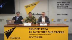 """Conferință de presă cu tema """"Marele Război pentru Apărarea Patriei și falsificările: rolul istoriei în guvernare"""""""