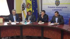 Declarații după ședința săptămânală a serviciilor primăriei Chișinău din 7 mai 2019
