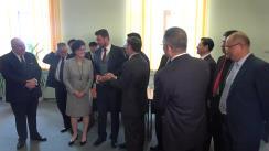 Ceremonia de semnare a acordului preliminar pentru construcția reactoarelor 3 și 4 de la Cernavodă, între reprezentanții Nuclearelectrica și cei ai Companiei chineze China Nuclear Corporation