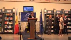 """Expoziția-eveniment cu genericul """"Explorați cei 70 de ani de activitate ai Consiliului Europei"""" în contextul celei de-a 70-a aniversări a Consiliului Europei cu sloganul """"Drepturile noastre, Libertățile noastre, Europa noastră"""""""