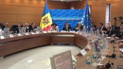 """Deschiderea mesei rotunde """"Cu privire la progresul înregistrat în realizarea """"Planului de acțiuni pentru anii 2017-2019 privind implementarea Declarației Parlamentului Republicii Moldova cu privire la acceptarea Raportului final al Comisiei internaționale pentru Studierea Holocaustului, prezidată de Elie Wiesel"""""""