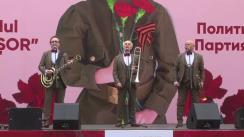 """Marș al Victoriei organizat de Partidul Politic """"ȘOR"""" cu ocazia Zilei Victoriei"""