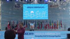 Deschiderea oficială a Orășelului European 2019