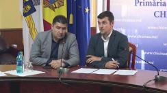 """Briefing susținut de consilierii municipali ai Partidului Socialiștilor din Republica Moldova cu tema """"Primăria municipală spală milioane de lei alocați"""""""