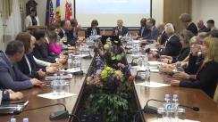 """Conferință de presă organizată de Universitatea de Stat de Medicină și Farmacie """"Nicolae Testemițanu"""" dedicată celebrării a 20 de ani de cooperare bilaterală între Republica Moldova - Carolina de Nord, SUA"""