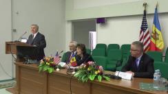 Conferința dedicată celebrării a 20 de ani de cooperare bilaterală între Republica Moldova - Carolina de Nord, SUA