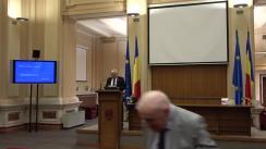 Briefing de presă susținut de Guvernatorul Băncii Naționale a României, Mugur Isărescu