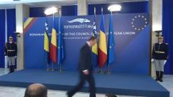 Primirea președintelui în exercițiu al Consiliului de Miniștri din Bosnia și Herțegovina, Denis Zvizdić, de către prim-ministrul României, Viorica Dăncilă