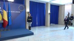Conferință de presă susținută de prim-ministrul României, Viorica Dăncilă, și președintele în exercițiu al Consiliului de Miniștri din Bosnia și Herțegovina, Denis Zvizdić