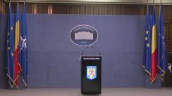 Declarație de presă susținută de Purtătorul de cuvânt al Ministerului Afacerilor Interne, comisar-șef de poliție Monica Dajbog, în contextul fenomenelor hidrometeorologice din ultimele zile