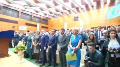 """Dezbaterea """"Become your best! – printr-un învățământ superior de calitate"""" cu participarea Președintelui României, Klaus Iohannis"""