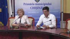 """Briefing susținut de consilierii municipali ai PSRM cu tema """"Problemele sociale și susținerea familiilor"""""""