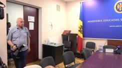 Semnarea Acordului de Parteneriat între Ministerul Educației, Culturii și Cercetării și Consiliul Municipal Chișinău privind dezvoltarea centrelor de tineret în mun. Chișinău