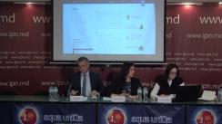 """Conferința de presă organizată de Asociația pentru Democrație Participativă ADEPT cu tema """"Lansarea platformei web dedicată serviciilor de gospodărie comunală din Republica Moldova"""""""