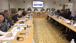 """Evenimentul de lansare a proiectului """"Promovarea activității Poliției bazată pe drepturile omului în Republica Moldova"""""""