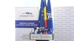 Conferința de presă susținută de Ambasadorul României în Republica Moldova, Daniel Ioniță, dedicată organizării alegerilor europarlamentare din România și referendumului național