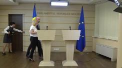 """Conferință de presă susținută de deputatul Blocului """"ACUM Platforma DA și PAS"""", Vladimir Bolea, împreună cu reprezentanții societății civile, de prezentare a concluziilor mesei rotunde """"Provocări în implementarea Legii apelor"""""""